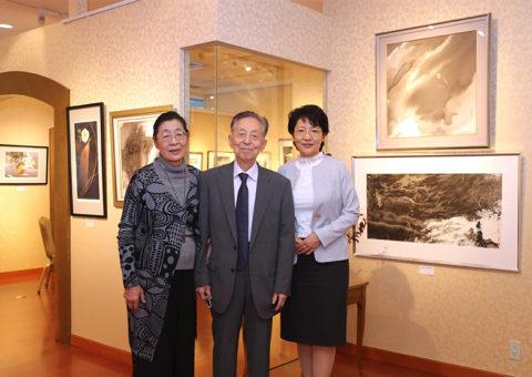 東京椿山莊画廊三人展2012年
