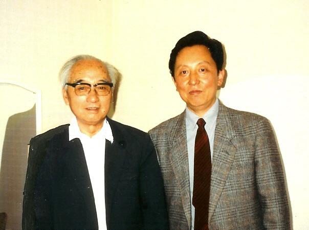 1989年与王朝聞先生