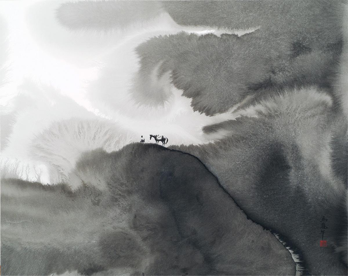 馬驍「天外有天」000×000cm