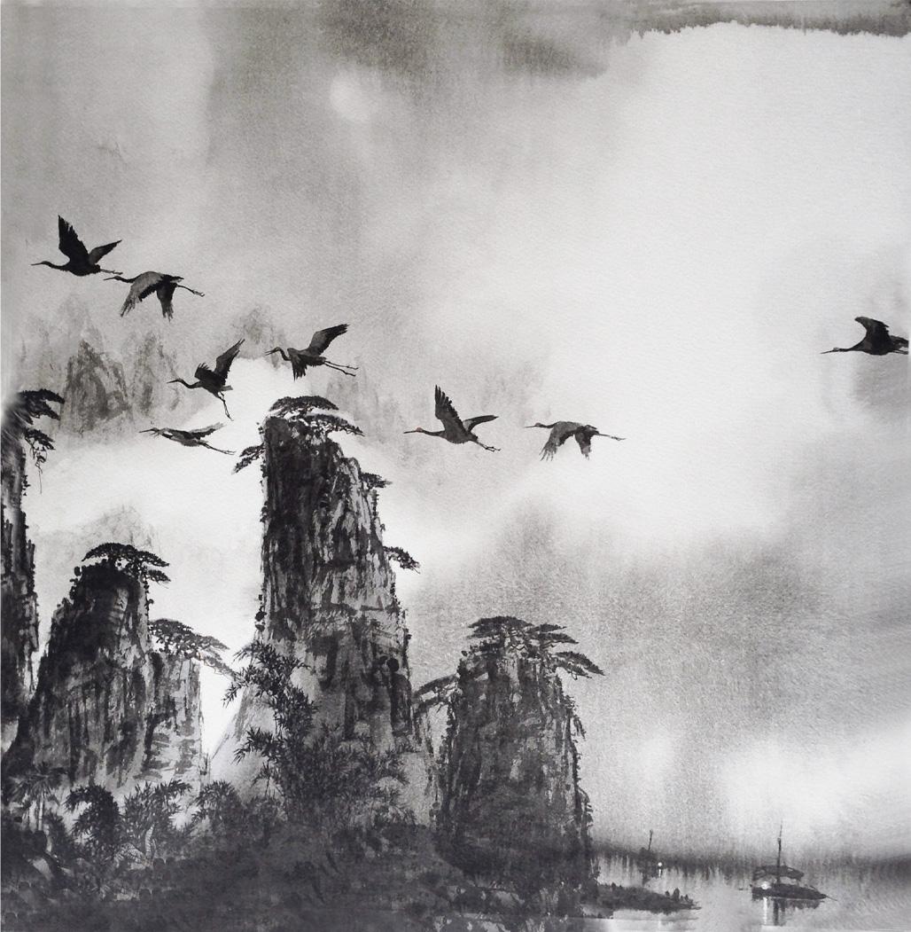 馬驍「桂林月夜」