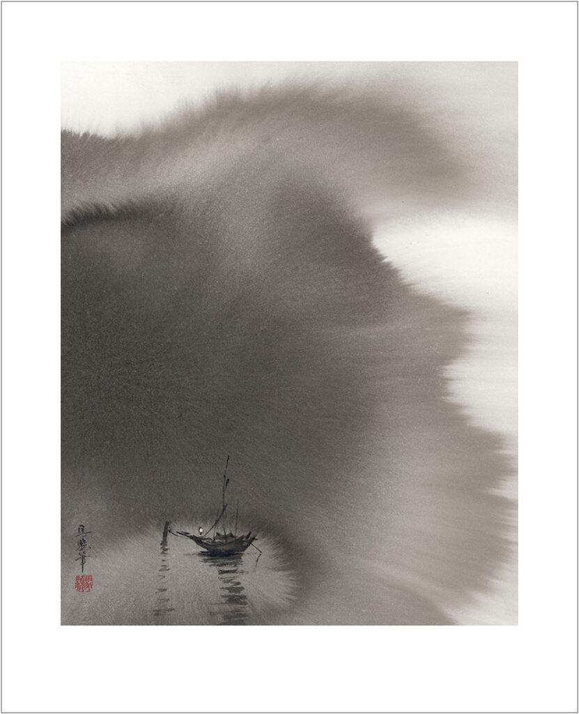 馬驍「静(船)」(No.MJ00005)